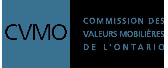 Logo de la Commission des valeurs mobilières de l'Ontario