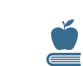 Baby carriage, apple, and a book